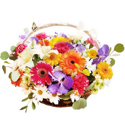 Цветочная корзина
